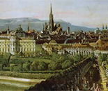 View of the City of Vienna by Bellotto