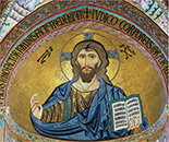 Mosaic of Christ Pantocrator, Cefalù