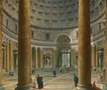 The Pantheon by Pannini