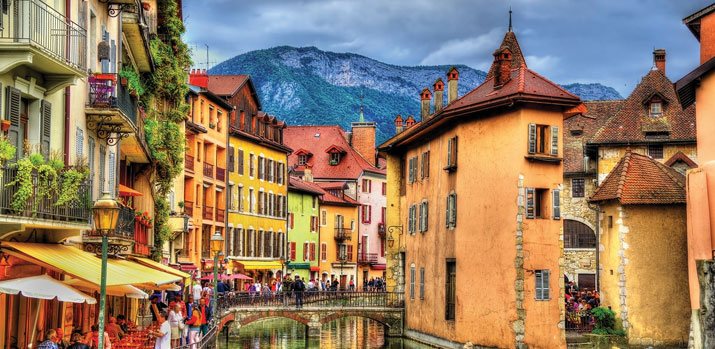 Annecy & the Beautiful Alps