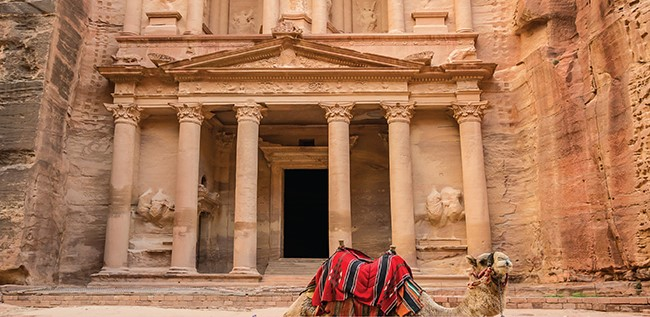 The History of Jordan & Petra