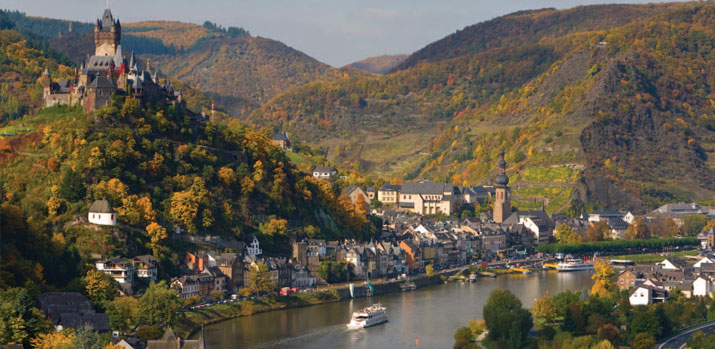 Rhine & Moselle Valleys with Oberammergau