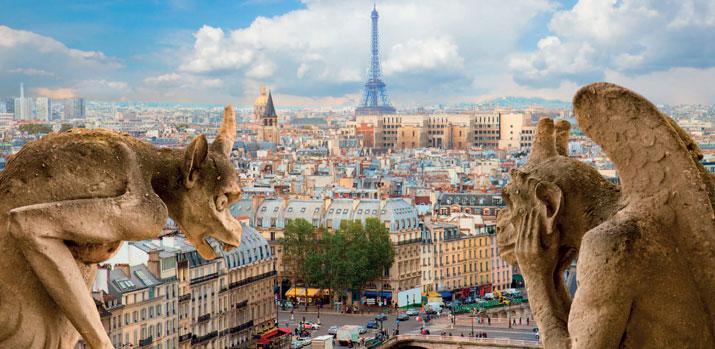 The Galleries & Châteaux of Paris