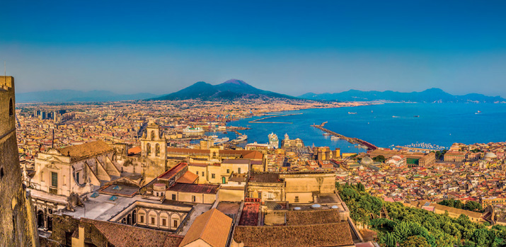 The History & Art of Naples, Herculaneum & the Island of Ischia