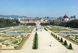 View of Vienna from Upper Belvedere Palace